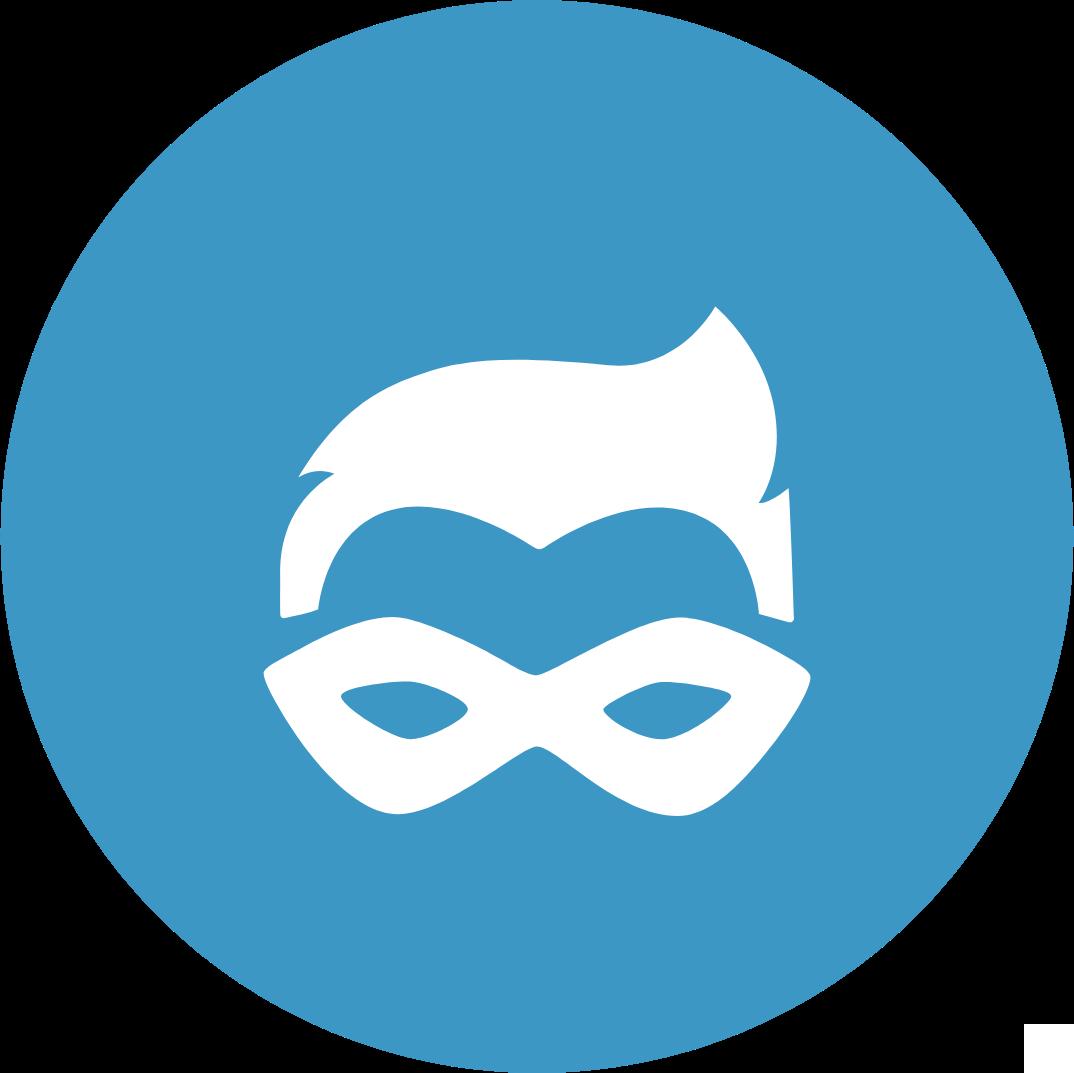 Sales Sidekick masked man